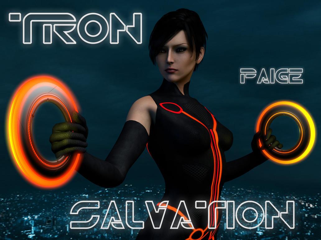 Tron Salvation Paige by perilous7