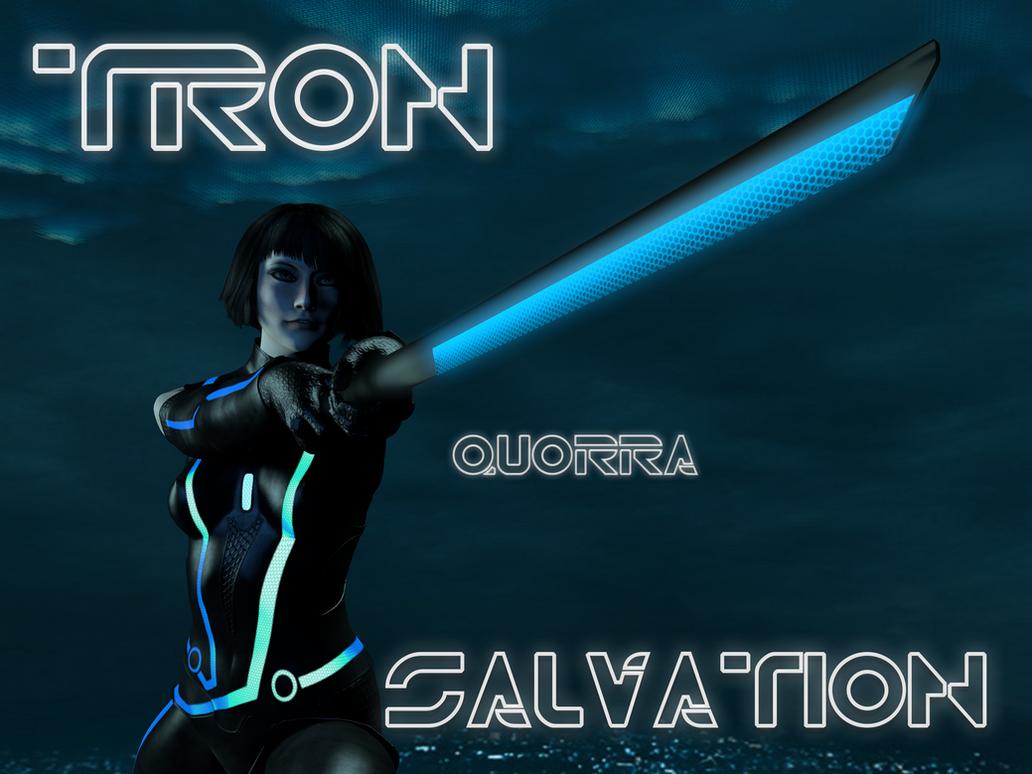 Quorra Tron Salvation2 by perilous7