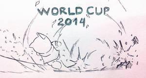 Doraemon Zu-Dora Rinho : Say hello to World Cup !!