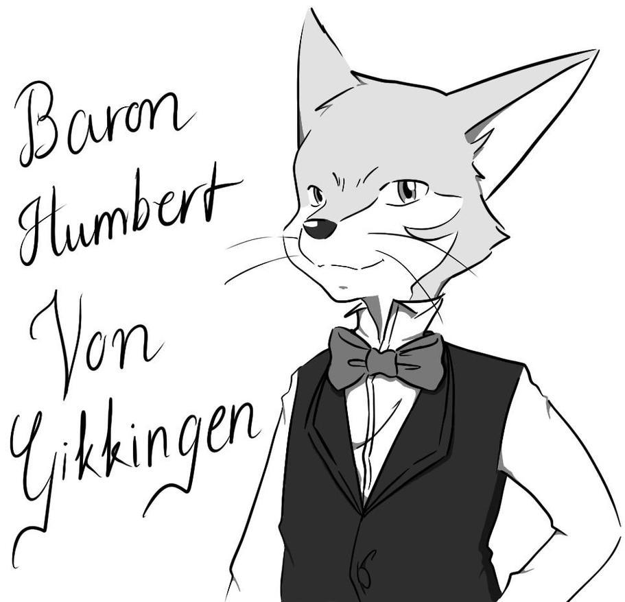 detective drawing baron humbert von gikkingen by doraemonbasil