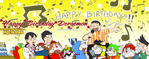 Happy Birthday Doraemon