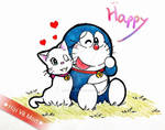 Doraemon and Mimi