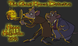 The Great Mouse Detective - Happy Halloween 2014