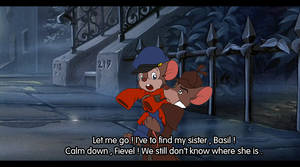 TGMD crossover An American Tail : Basil and Fievel