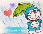 Hello , it's raining !