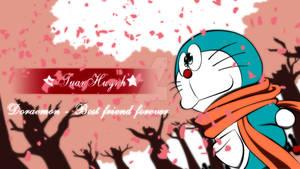 Doraemon Sakura Festival Full HD wallpaper