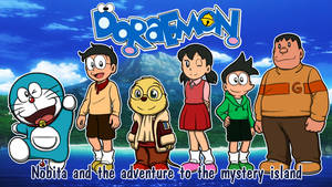 Nobita and the adventure to the mystery island