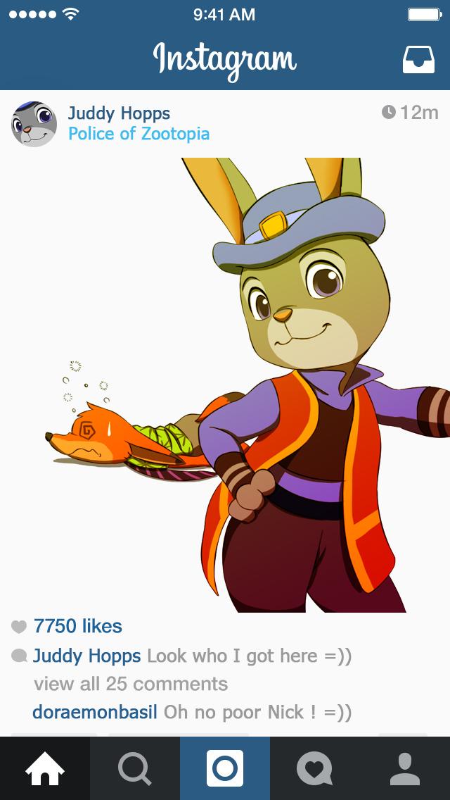 Ausmalbild Nick Und Judy Hopps Aus Zootopia: Zootopia-Judy Hopps By Doraemonbasil On DeviantArt
