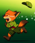 Zootopia - Little fox crying