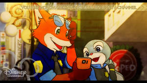 Zootopia on Disney Channel