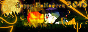 Banner : Doraemon - Happy Halloween 2016