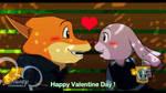 Zootopia : Break time in Valentine Day