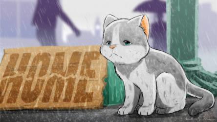 Kitten need home by doraemonbasil