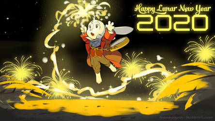 My-OC-Character : E.B Happy Lunar New Year 2020