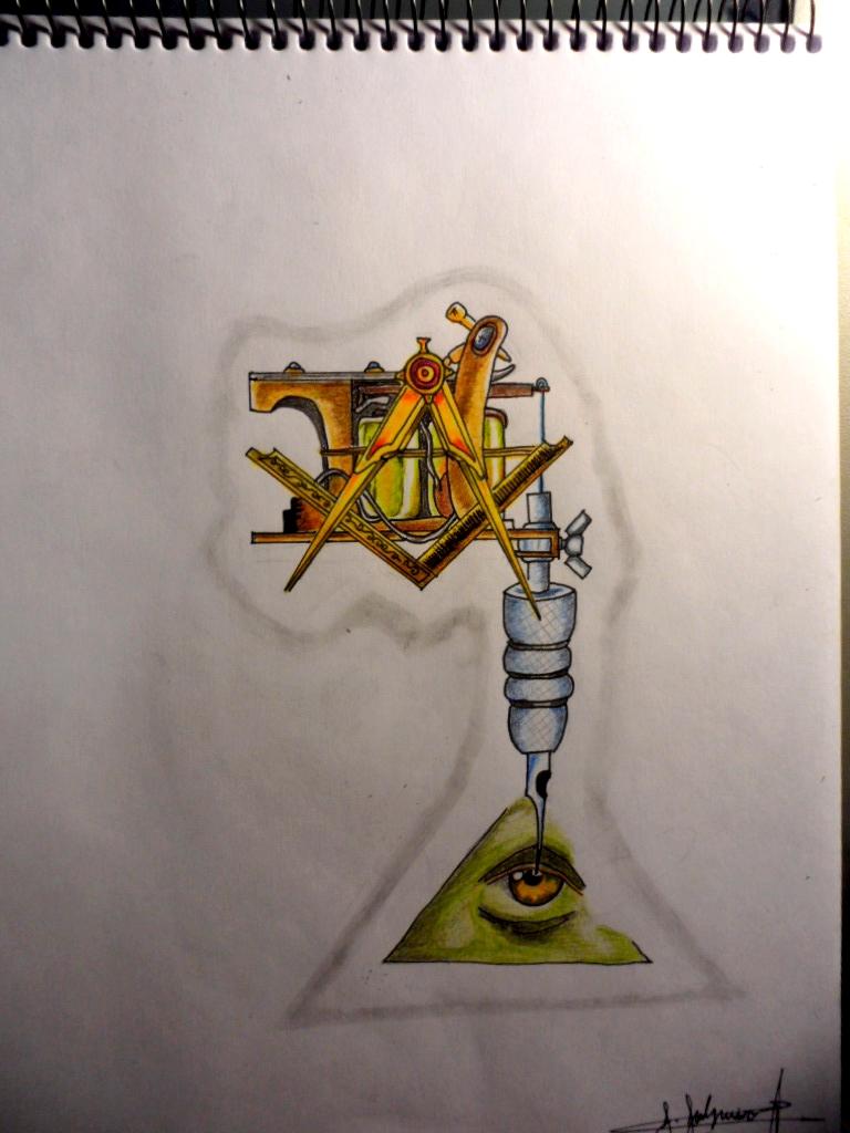 Illuminati Tattoos Designs Illuminati tattoo machine by
