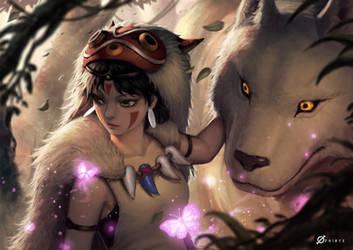 Princess Mononoke by Arcanedist