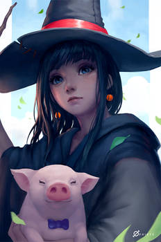Magician and Piglet