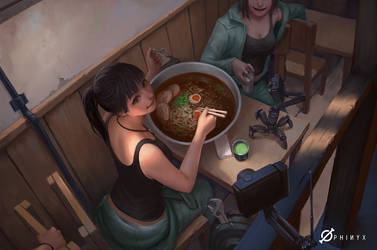 Afterwork Food Challenge! by Arcanedist