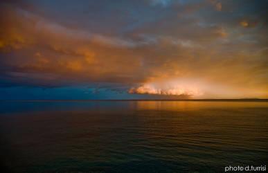 Sunrise in Sicily.