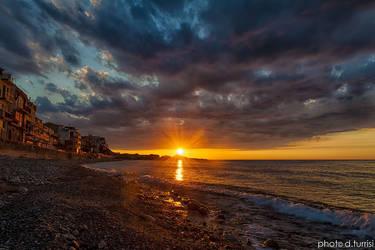 Sunset in Marina di Caronia 9