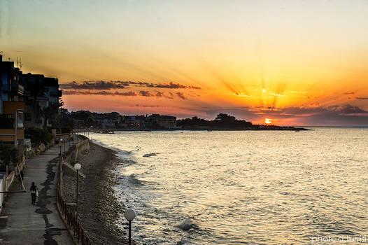 Sunset in Marina di Caronia 13