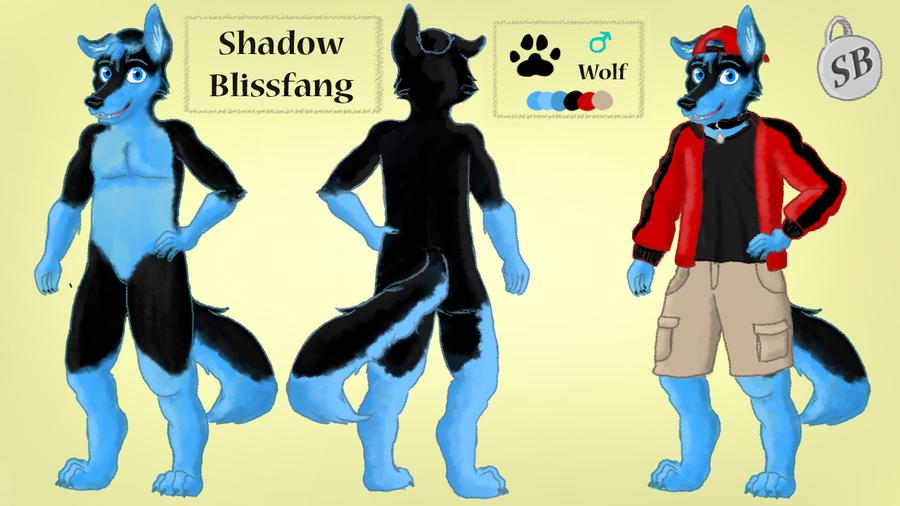 Shadowbliss Ref Sheet by MochaNess