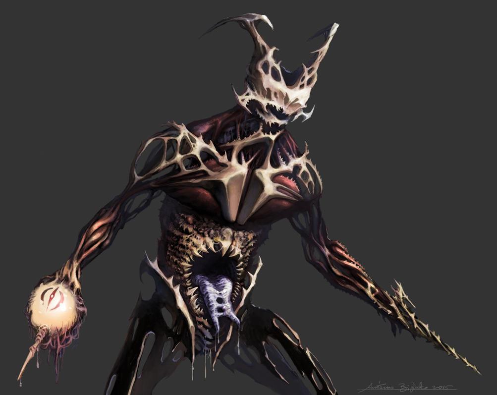 Monster concept by fragcomics