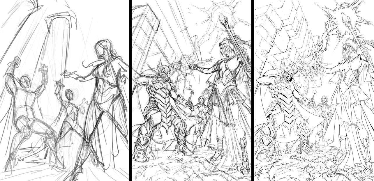 Oz cover process by fragcomics