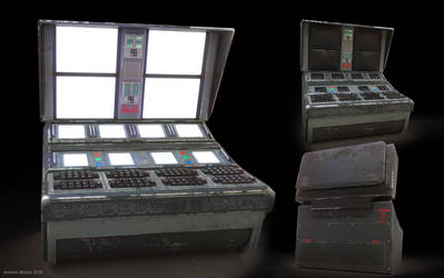 Control Room main computer