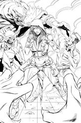 Robyn Hood: the Hunt #6 cover