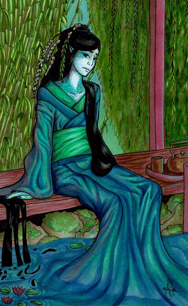 Lily the Undine by moriquenda on DeviantArt