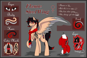 Flamie SteelWing [Reference Commission]