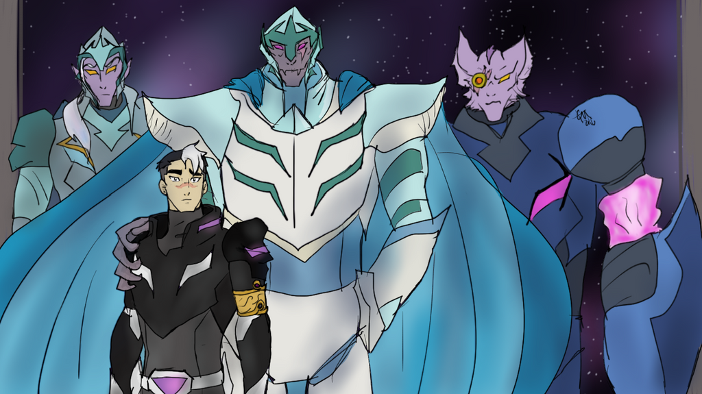 Voltron S Mirror Responsibility By Ardentaspen On Deviantart