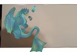 Dragon hatchling Arcee