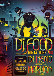 dj Food- robots and ninjas