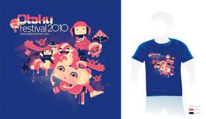 Otaku Festival Tshirt design