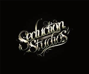 Seduction Studios Custom Lettering