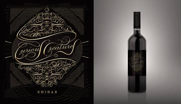 Wine Label Design/ Typography