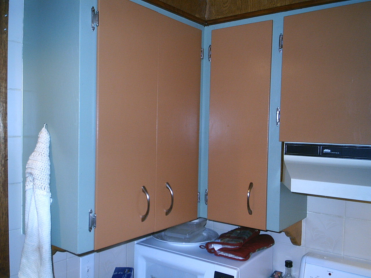Painted Kitchen Doors Before And After
