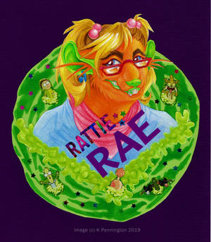 Rattie Rae Badge