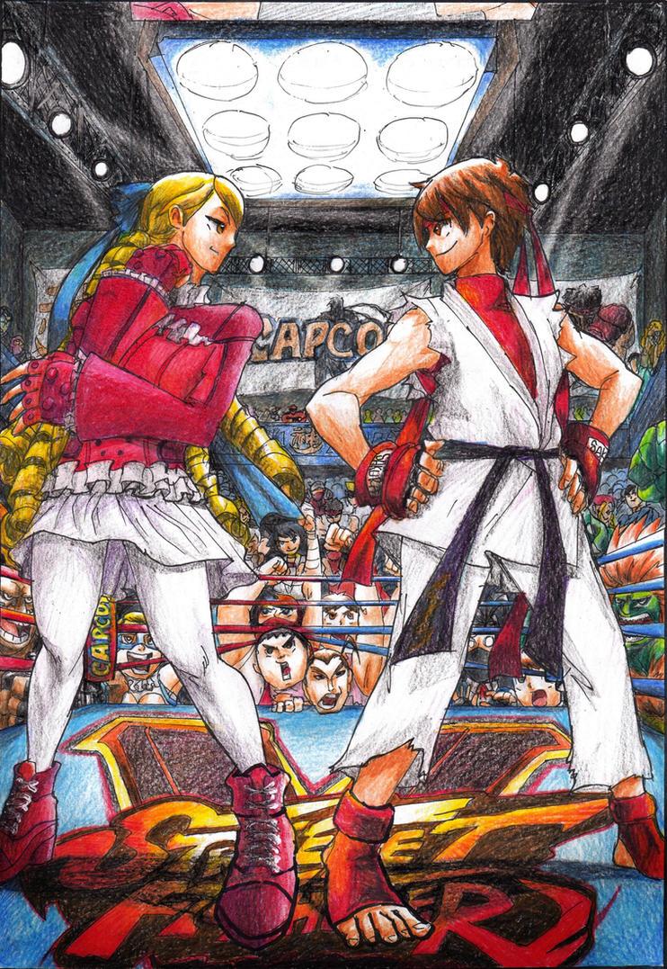 Sakarin: Sakura vs Karin by HornbillKun