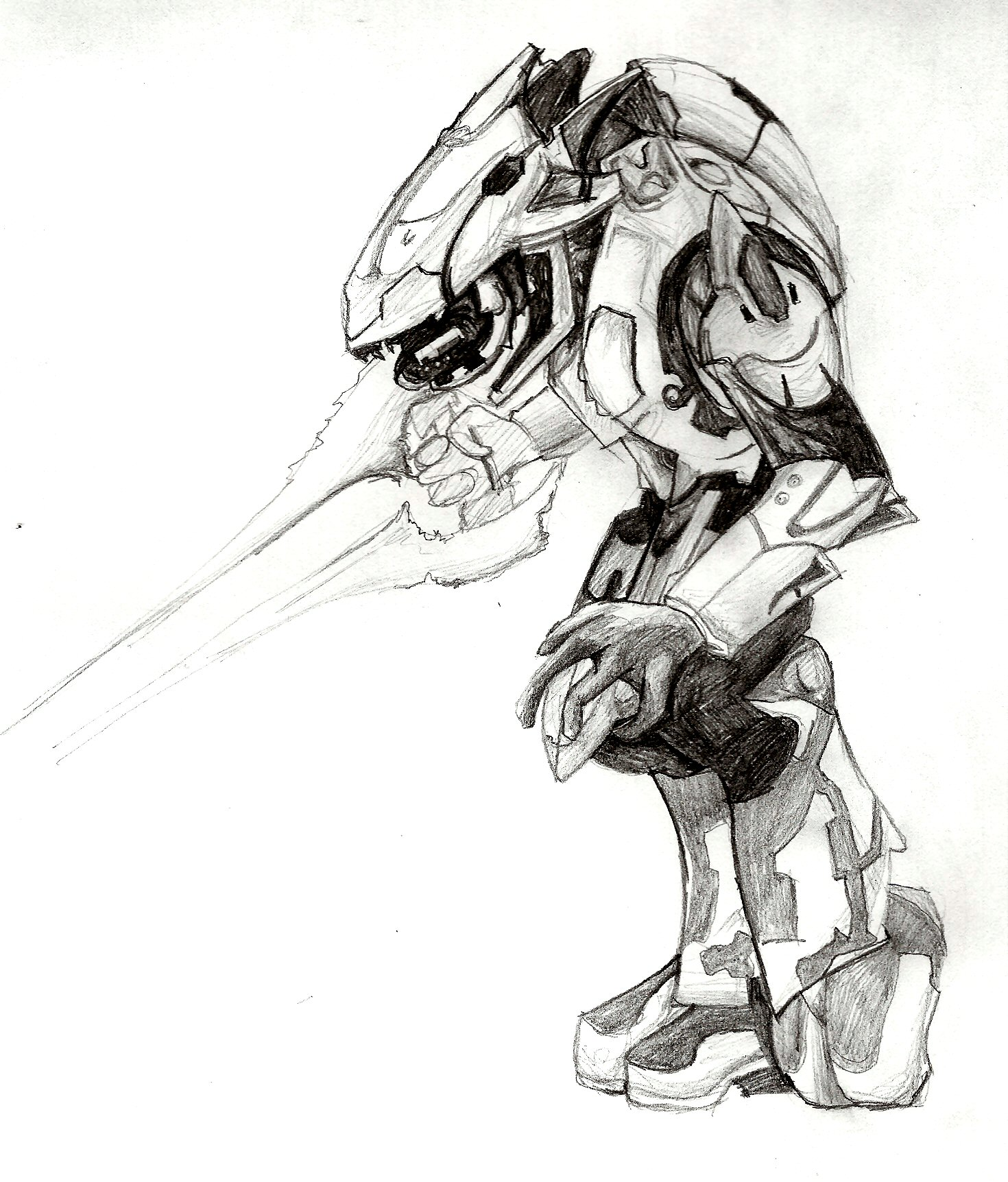Halo Drawing Pictures