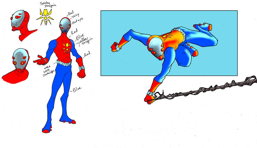 spidey redesign challenge by miabu