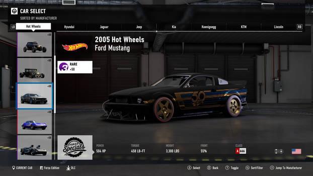 2005 Hot Wheels Ford Mustang - Forza Motorsport 7