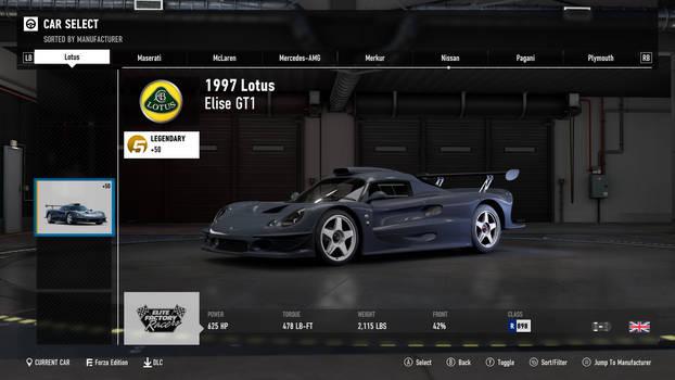 1997 Lotus Elise GT1 - Forza Motorsport 7