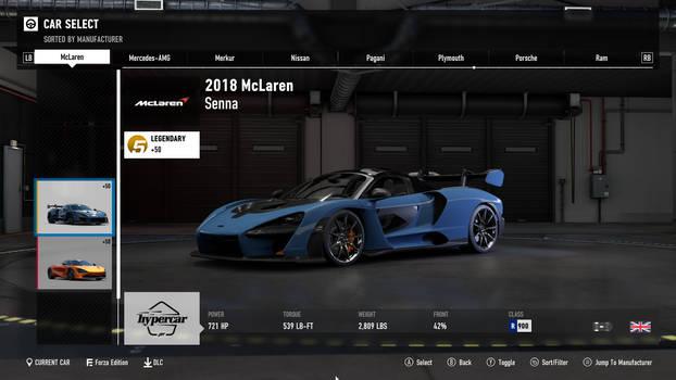 2018 McLaren Senna - Forza Motorsport 7