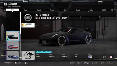 2012 Nissan GT-R - Forza Motorsport 7