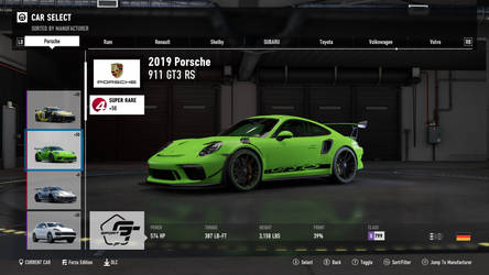 2019 Porsche 911 GT3 RS - Forza Motorsport 7
