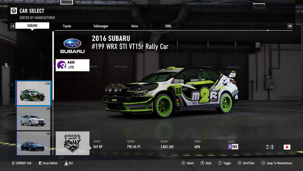 2016 Subaru WRX STI - Forza Motorsport 7