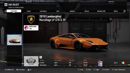 2010 Lamborghini Murcielago LP 670-4 SV - FM7